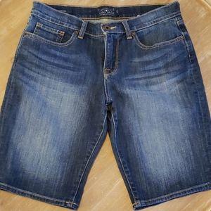 Lucky Brand Bermuda Blue Jean shorts 6/28